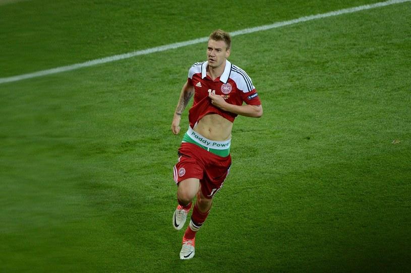 Nicklas Bendtner i feralne bokserki /AFP