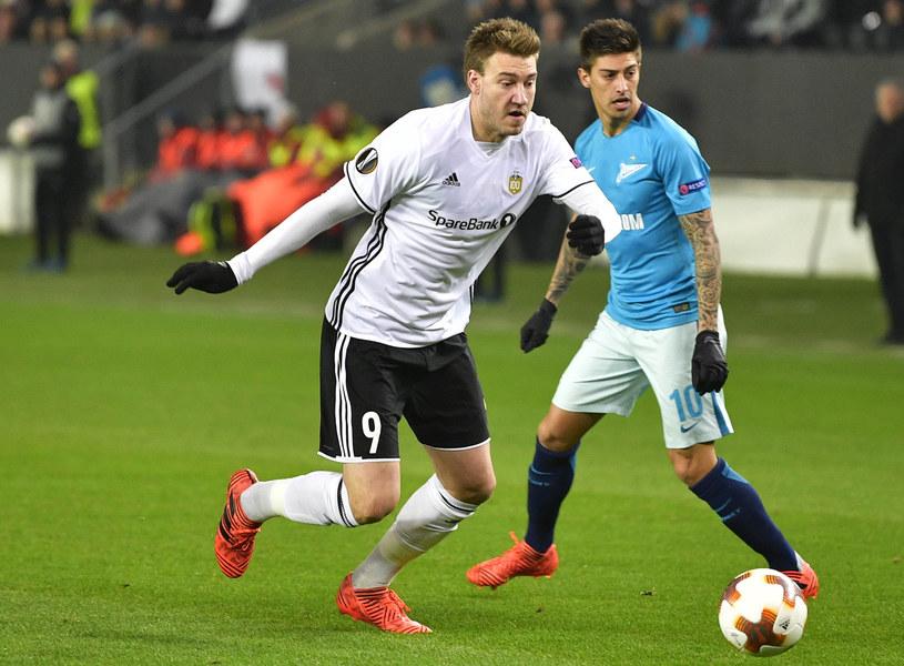 Nicklas Bendtner, piłkarz Rosenborgu /AFP