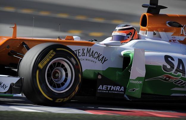 Nico Hulkenberg z zespołu Force India /AFP