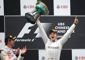 Nico Rosberg ma więcej szczęścia niż Kubica