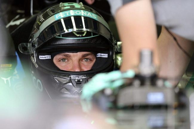 Nico Rosberg w bolidzie /PAP/EPA/Carlos Villalba Racines /PAP/EPA