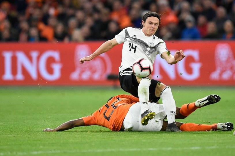 Nico Schulz coraz częściej dostaje szansę w reprezentacji Niemiec /AFP JOHN THYS /AFP