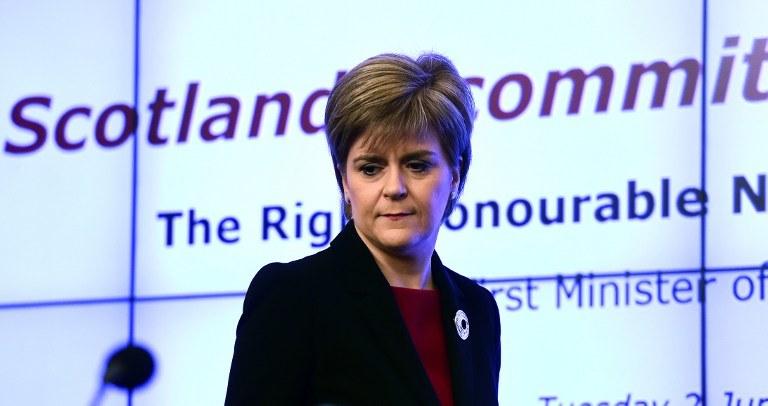 Nicola Sturgeon /AFP