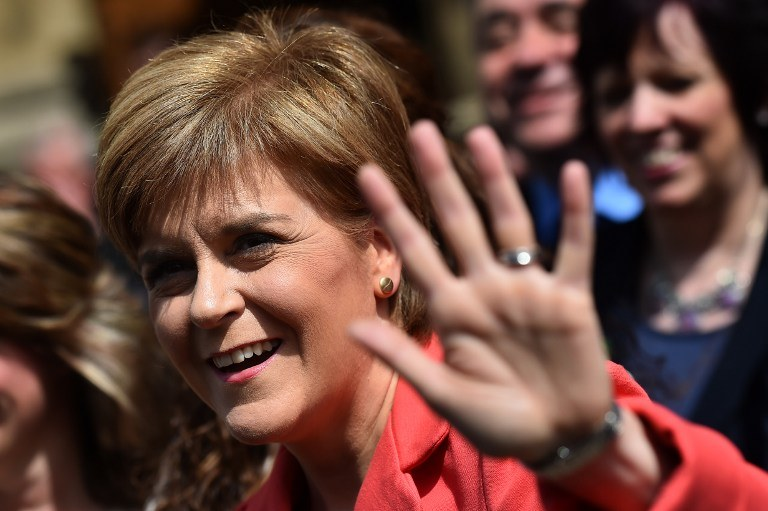 Nicola Sturgeon /AFP