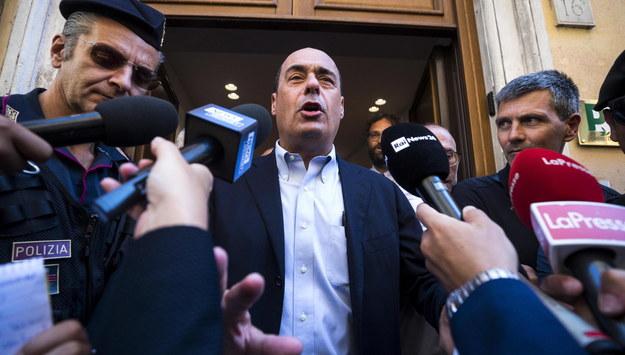 Nicola Zingaretti /ANGELO CARCONI /PAP/EPA