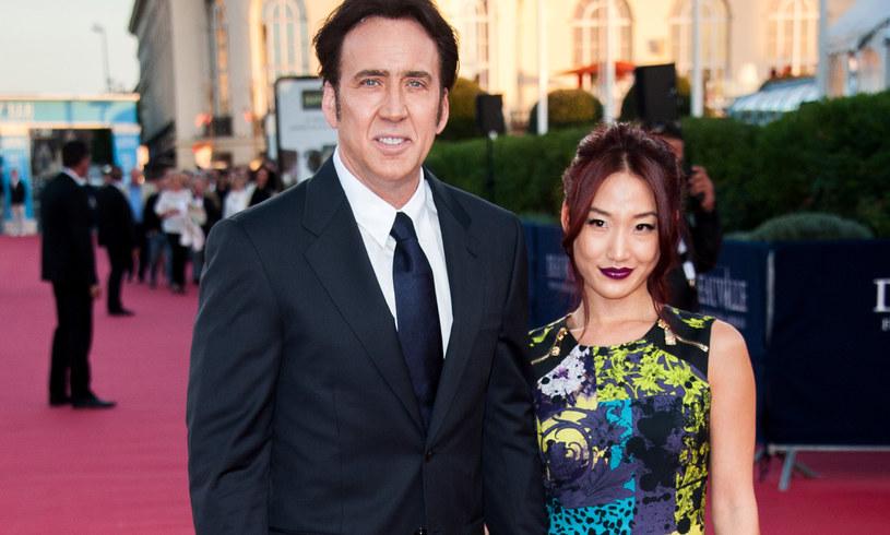 Nicolas Cage i Alice Kim /Francois Durand /Getty Images