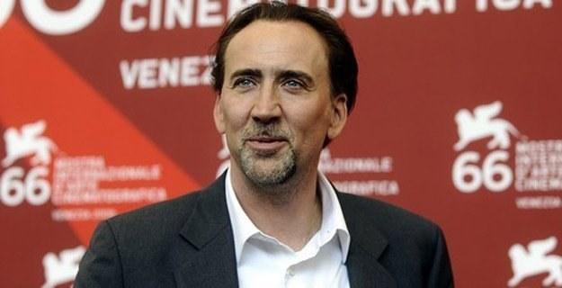 Nicolas Cage przyznaje, że chętnie gra w filmach s-f /AFP