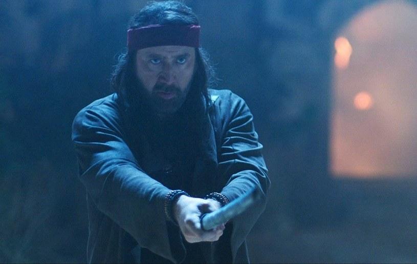 "Nicolas Cage w zwiastunie filmu ""Jiu Jitsu"" /materiały prasowe"