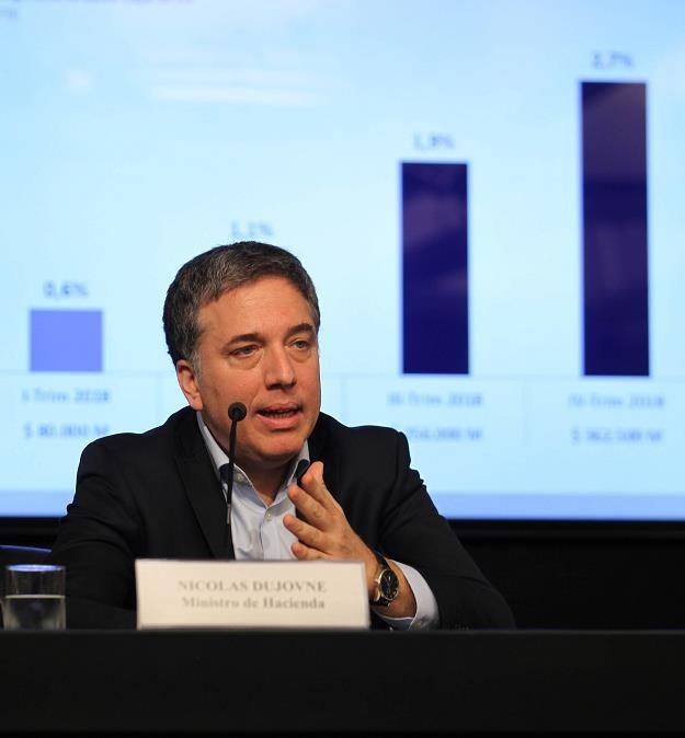 Nicolas Dujovne, b. minister gospodarki Argentyny /EPA