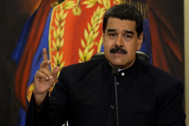 Nicolas Maduro /fot. Federico Parra /AFP