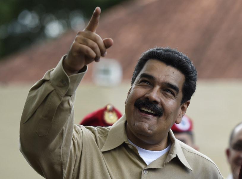 Nicolas Maduro prezydent Wenezueli, który doprowadził kraj do zapaści /AFP
