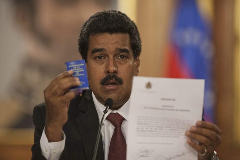 Nicolas Maduro /PAP/EPA