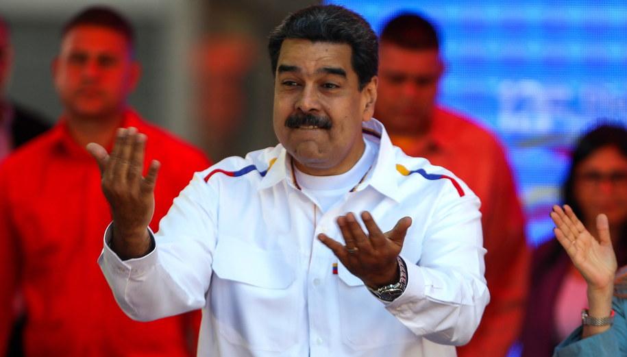 Nicolas Maduro /CRISTIAN HERNANDEZ /PAP/EPA