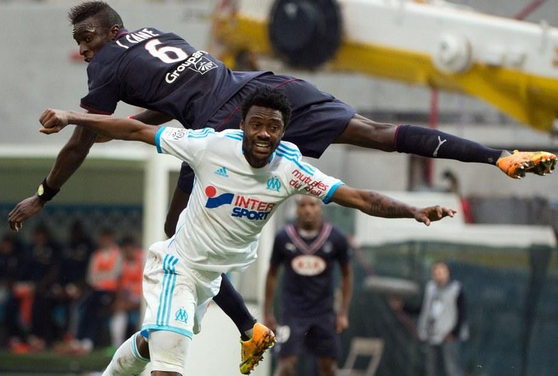 Nicolas N'Koulou, obrońca Olympique Marsylia /AFP