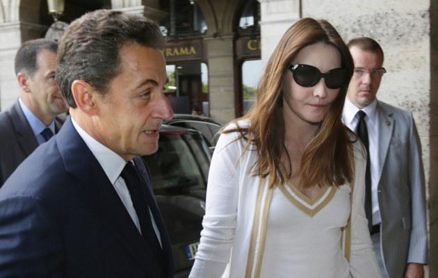 Nicolas Sarkozy, Carla Bruni /AFP