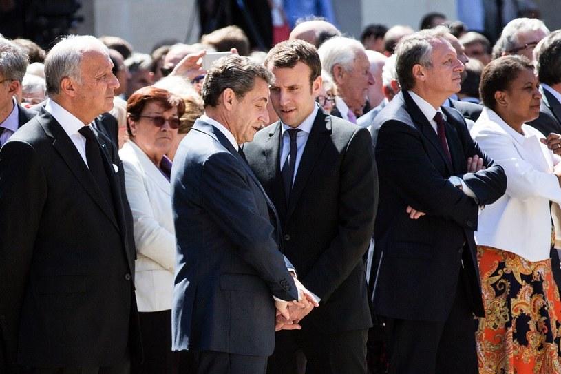 Nicolas Sarkozy i Emmanuel Macron /AFP