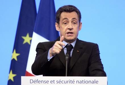 Nicolas Sarkozy jak król? /AFP
