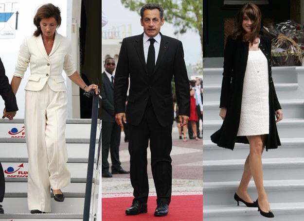 Nicolas Sarkozy ma słabość do szatynek  /Getty Images/Flash Press Media