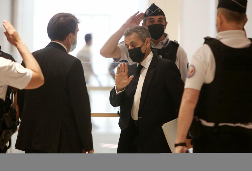 Nicolas Sarkozy w sądzie /AP/Associated Press/East News /East News