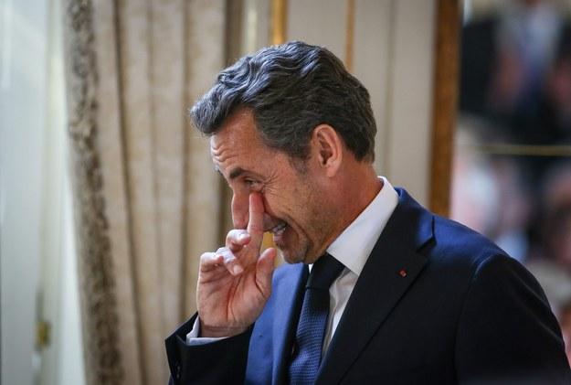 Nicolas Sarkozy /JULIEN WARNAND /PAP/EPA