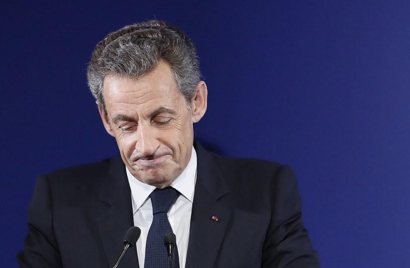 Nicolas Sarkozy /IAN LANGSDON/POOL /PAP/EPA