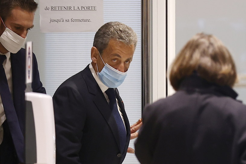 Nicolas Sarkozy /IAN LANGSDON /PAP/EPA