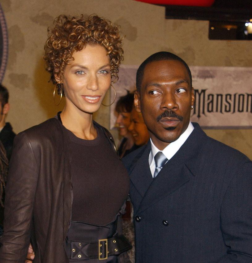 Nicole i Eddie Murphy rozstali się w 2005 roku /Gregg DeGuire /Getty Images