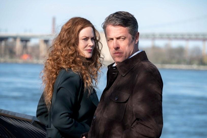 """Nicole Kidman i Hugh Grant w serialu """"Od nowa"""" /HBO /materiały prasowe"""