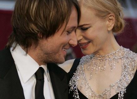 Nicole Kidman i Keith Urban - szczęśliwi rodzice /AFP
