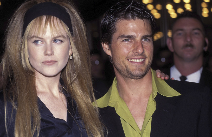 Nicole Kidman i Tom Cruise, 1996 rok /Patrick Riviere /Getty Images