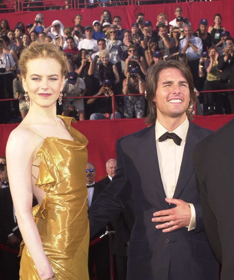 Nicole Kidman i Tom Cruise w 2000 roku / Newsmakers /Dan Callister /Getty Images