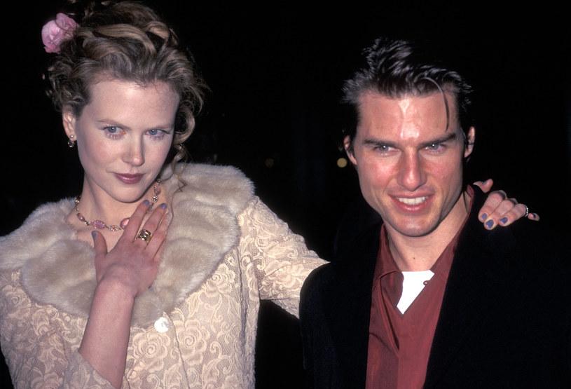 Nicole Kidman i Tom Cruise /Ron Galella /Getty Images