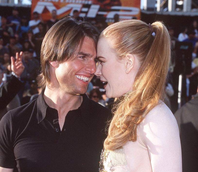 Nicole Kidman i Tom Cruise /Gregg DeGuire /Getty Images