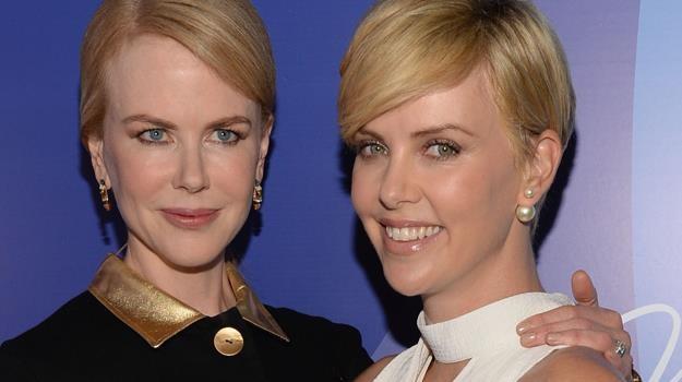 Nicole Kidman ma dwójkę adoptowanych dzieci, Charlize Theron, jak dotąd, jedno / fot. Michael Kovac /Getty Images/Flash Press Media
