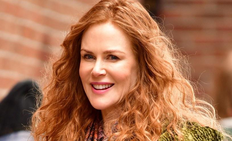 Nicole Kidman od lat była wierna długim włosom. Rude loki przefarbowała na blond. A teraz zdecydowała się na pixie cut /Getty Images