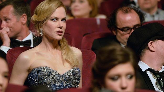 "Nicole Kidman przed seansem ""Grace księżna Monako"" - fot. Pascal Le Segretain /Getty Images"