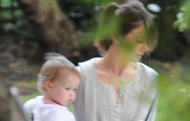 Nicole Kidman z córeczką w Australii  /Splashnews