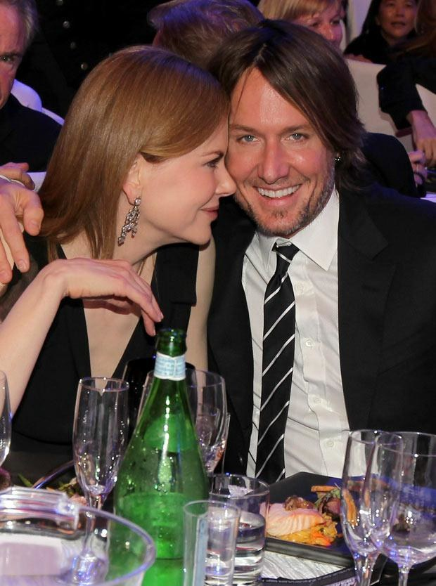 Nicole Kidman z mężem  /AFP