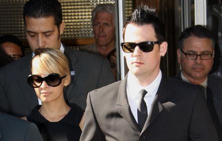 Nicole Richie i Joel Madden /arch. AFP