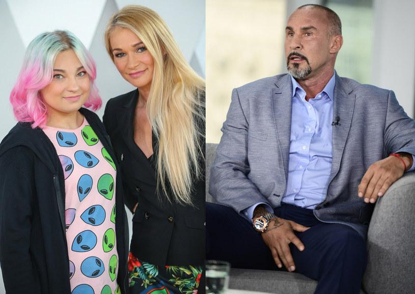 Nicole Saleta, Ewa Pacuła, Przemysław Saleta, fot. Kamil Piklikiewicz, Olszanka /East News
