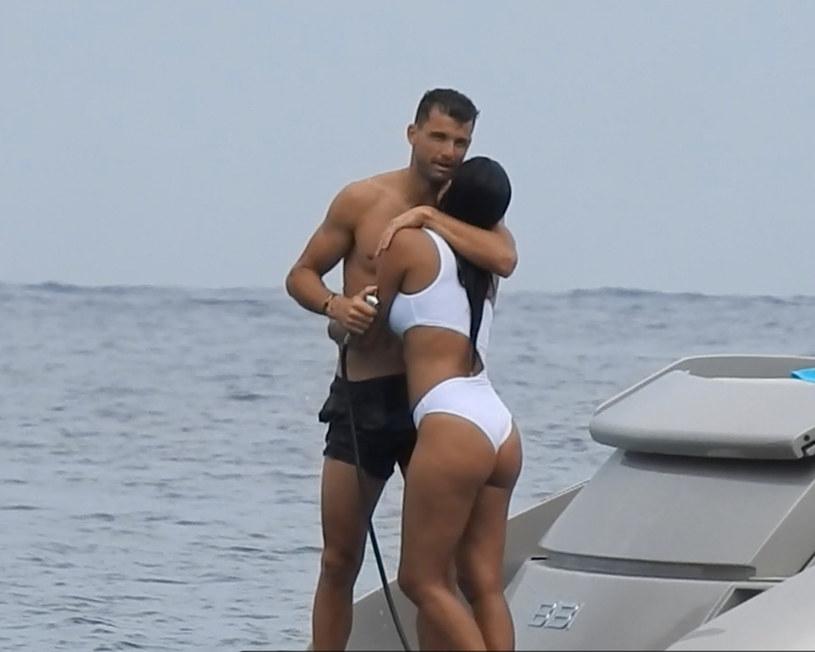 Nicole Scherzinger i Grigor Dimitrow /Agencja FORUM