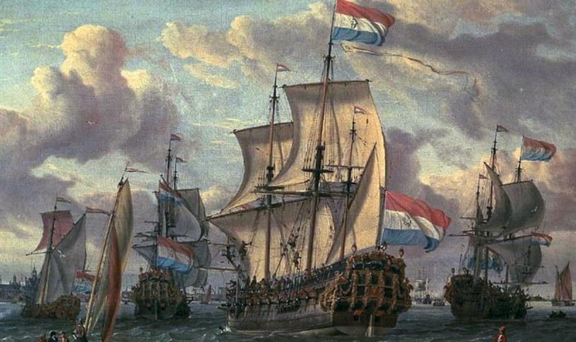 Niderlandy w ciągu kilkunastu lat stały się prawdziwą morską potęgą /Domena publiczna /INTERIA.PL/materiały prasowe