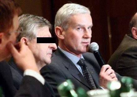 Nie bez kozery Eugeniusz K. był nazywany prawą ręką Michała Listkiewicza. /Agencja Przegląd Sportowy