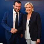 """""""Nie cofniemy się"""". Le Pen i Salvini chcą stworzyć """"inną UE"""""""