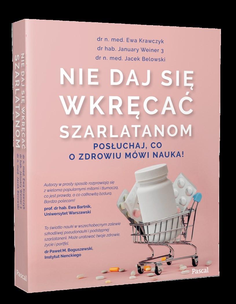 Nie daj się wkręcać szarlatanom, Ewa Krawczyk, January Weiner 3. i Jacek Belowski /INTERIA.PL/materiały prasowe