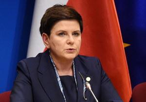 """""""Nie dla Europy kilku prędkości"""". Konferencja premier Beaty Szydło"""