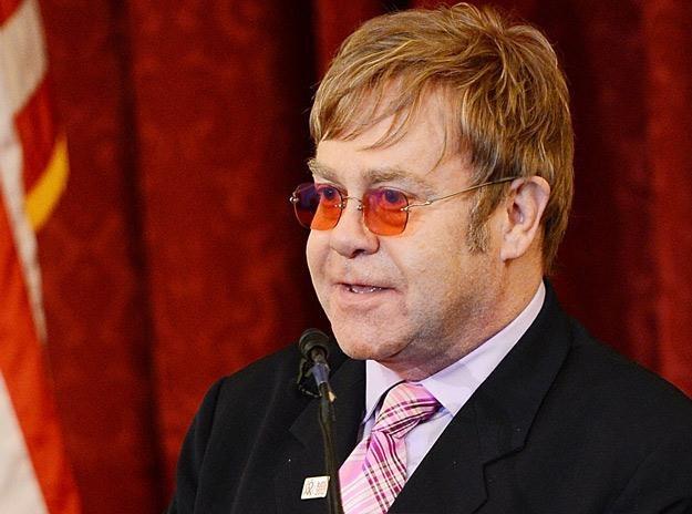 Nie jest tajemnicą, że Elton John nie przepada za Madonną - fot. Michael Kovac /Getty Images/Flash Press Media