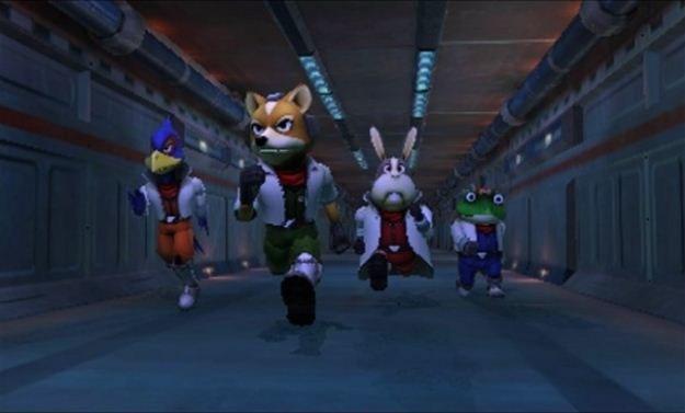 Nie licząc poprawionej oprawy graficznej, Star Fox 64 3D jest wierną konwersją z Nintendo 64 /INTERIA.PL