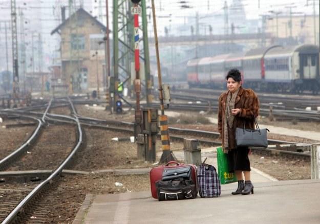 Nie ma co lamentować po linii, która powstała w XIX w. i jeżdżą nią zaledwie dwa pociągi na dobę... /AFP