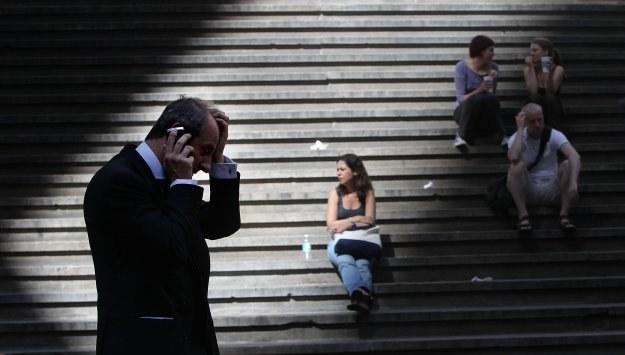 Nie ma pewności, że kryzys finansowy w świecie się nie powtórzy... /AFP